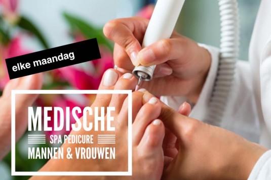 Medische SPA Pedicure voor Mannen & Vrouwen